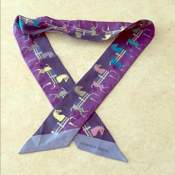 474775ba0436 Hermes Accessories | Twilly Scarf Or Handbag Tie | Poshmark